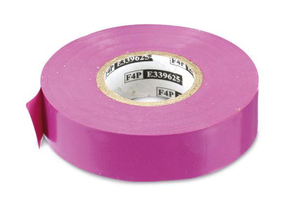 Elektriker-Isolierband, 19 mm, 20 m, violett