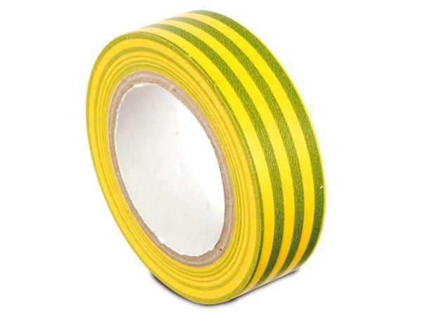 Isolierband, EN 60454-3-1, grün/gelb