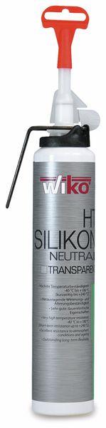 Silikon-Dichtmasse TRANS-SIL, Automatikkartusche 200 ml
