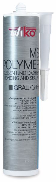 MS Polymer Kleb-/Dichtstoff, 290 ml, grau