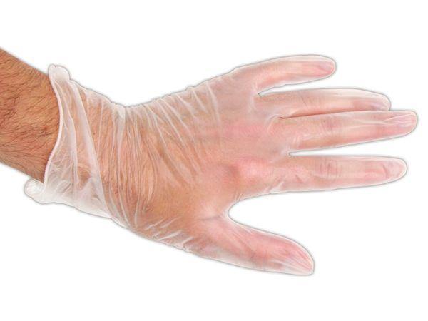 Einweg-Handschuhe, Größe M, 10 Stück - Produktbild 1