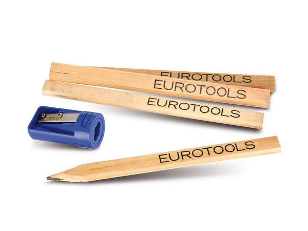 Zimmermanns-Bleistifte mit Spezialspitzer