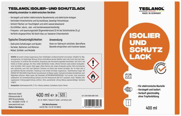 Isolier- und Schutzlack-Spray TESLANOL T7 - Produktbild 2