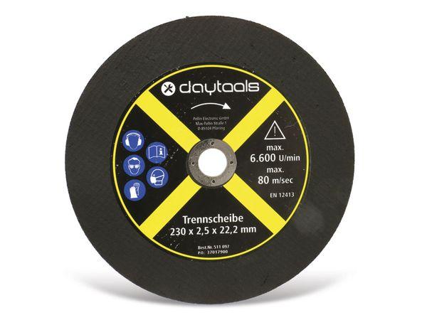 Trennscheibe DAYTOOLS, Metall, 230x2,5x22,2 mm, 5 Stück - Produktbild 2
