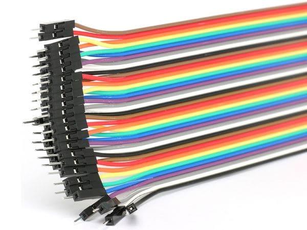 Steckboard-Verbindungsleitungen, Stecker/Stecker, 40-polig - Produktbild 2