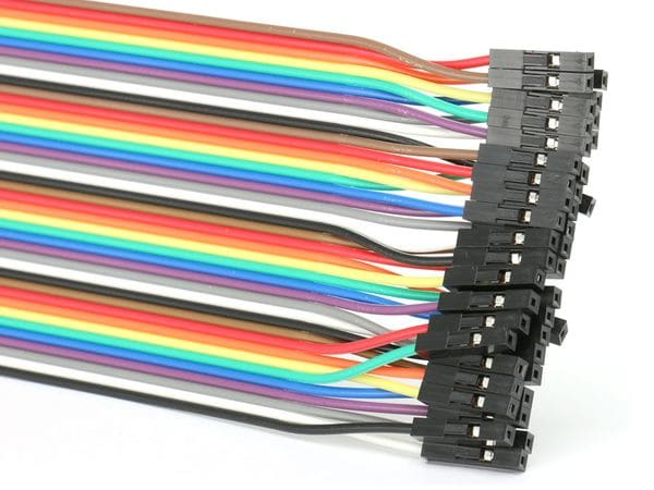 Steckboard-Verbindungsleitungen, Stecker/Kupplung, 40-polig - Produktbild 2