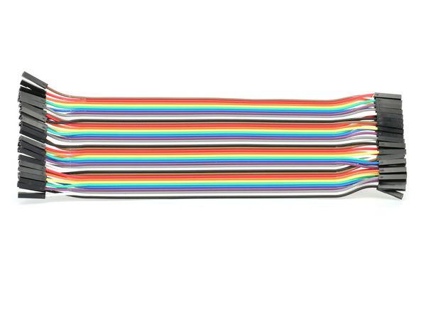 Steckboard-Verbindungsleitungen, Kupplung/Kupplung, 40-polig - Produktbild 1