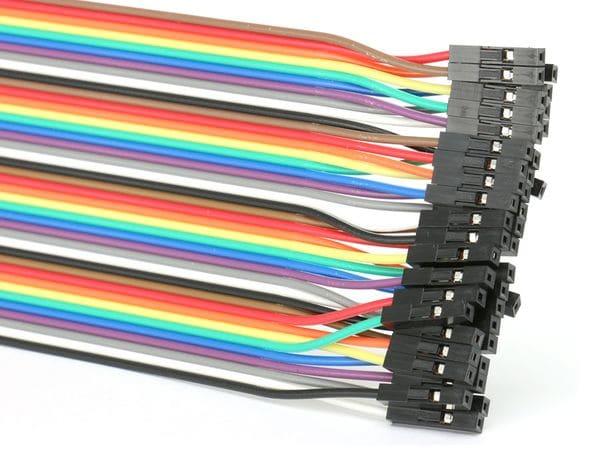 Steckboard-Verbindungsleitungen, Kupplung/Kupplung, 40-polig - Produktbild 2