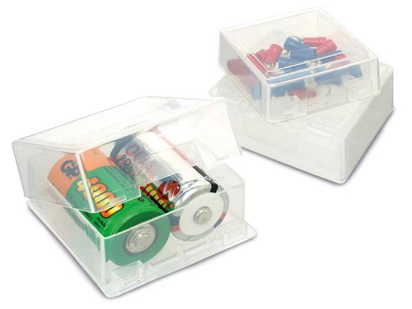 Kunststoff-Boxen, 3er Set, verschiedene Größen