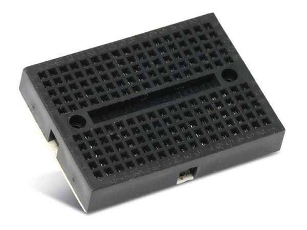 Labor-Steckboard DAYTOOLS LSB-170AS, schwarz - Produktbild 1