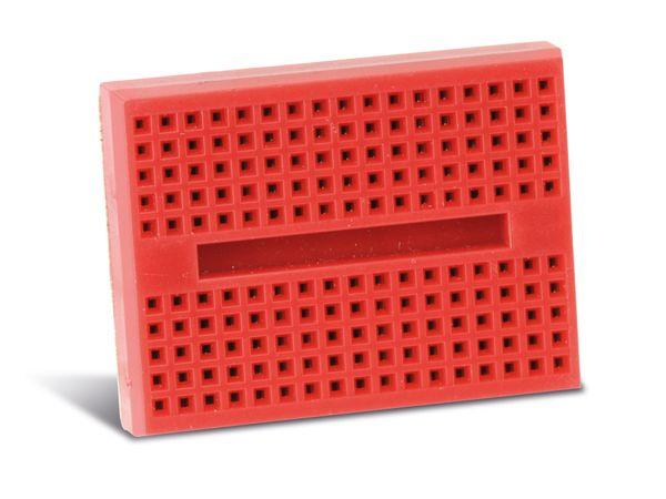 Labor-Steckboard DAYTOOLS LSB-170R, rot - Produktbild 2