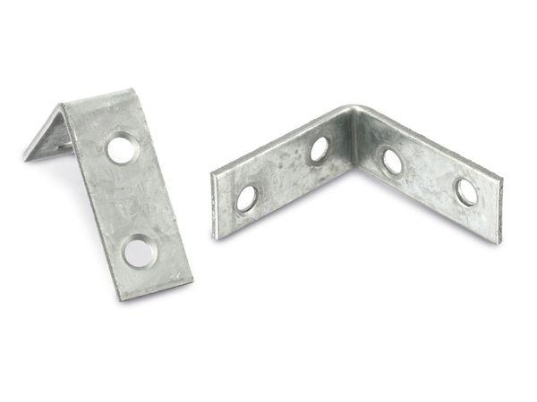 Winkelverbinder (Stuhlwinkel), 40x40x15x2 mm, 12 Stück