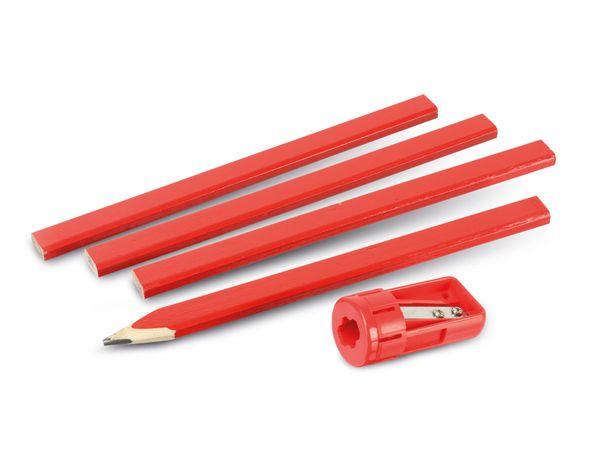 Zimmermanns-Bleistifte KINZO mit Spitzer - Produktbild 1