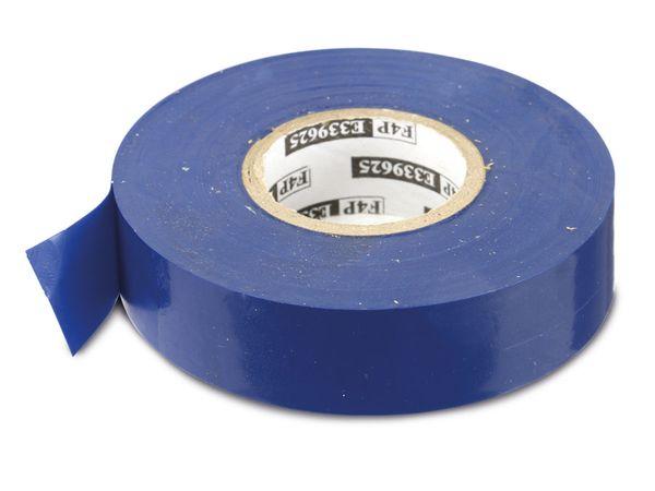 Elektriker-Isolierband, 19 mm, 20 m, blau