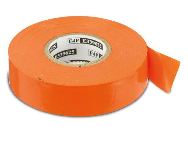 Elektriker-Isolierband, 19 mm, 20 m, orange