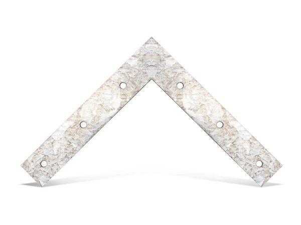 Verbindungsbleche, L-Winkel, 150x150 mm, 2 Stück
