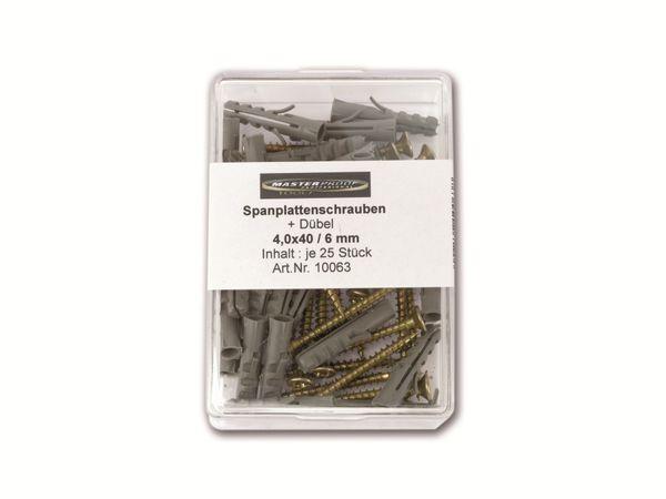 Schrauben-/Dübelset, 6 mm - Produktbild 3
