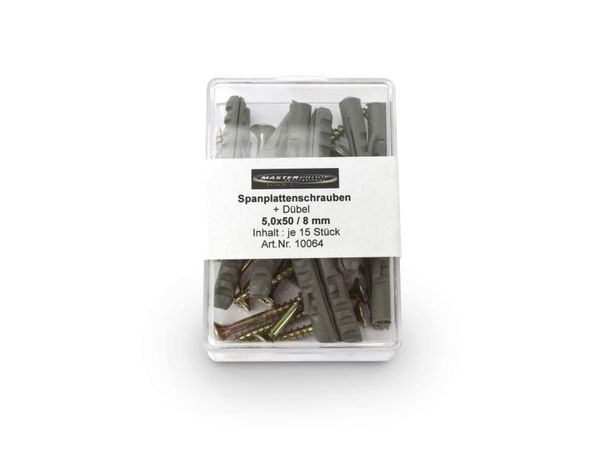 Schrauben-/Dübelset, 8 mm - Produktbild 3