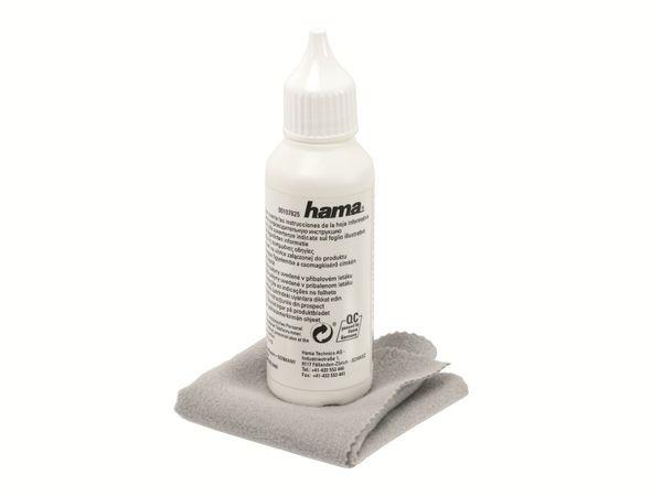 Beschichtungsflüssigkeit HAMA Clean2Go mit Mikrofasertuch