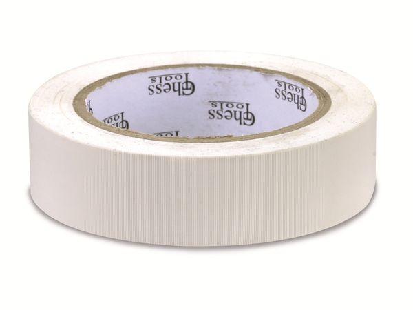 Gewebe-Klebeband, 30 mm, 30 m, weiß - Produktbild 1