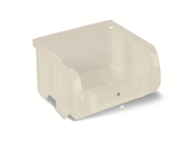Stapelsichtbox ALLIT ProfiPlus Compact 1, 100x100x60 mm, transparent