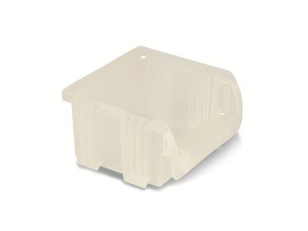 Stapelsichtbox ALLIT ProfiPlus Compact 1, 100x100x60 mm, transparent - Produktbild 2