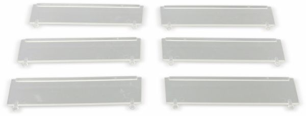 Steckscheibe für Stapelsichtbox ALLIT ProfiPlus Compact 1, 6 Stück