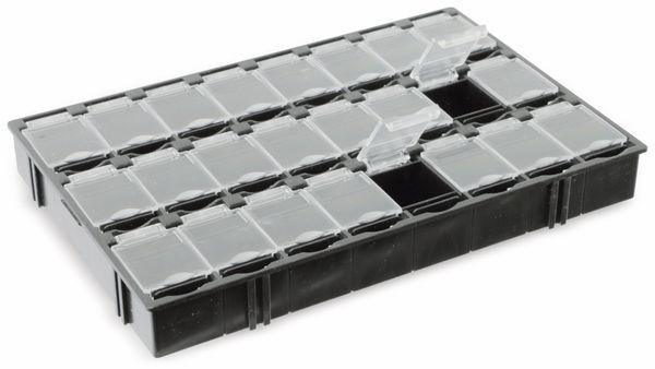 SMD-Systemcontainer T-156, 24-fach, schwarz - Produktbild 2