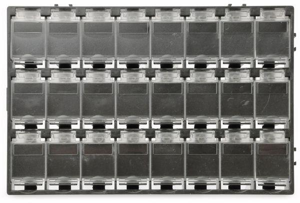 SMD-Systemcontainer T-156, 24-fach, schwarz - Produktbild 4