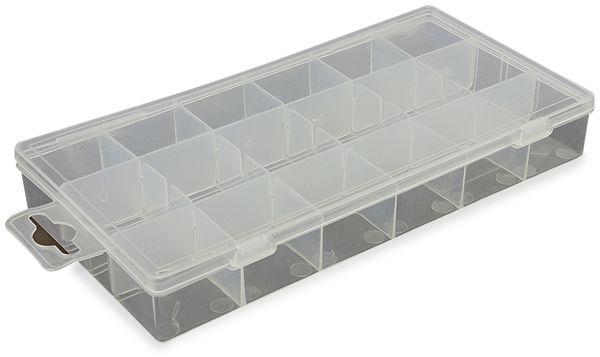 Kunststoffbox, transparent - Produktbild 1