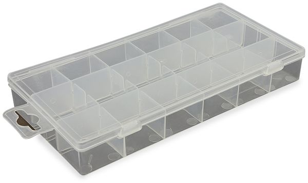 Kunststoffbox, transparent
