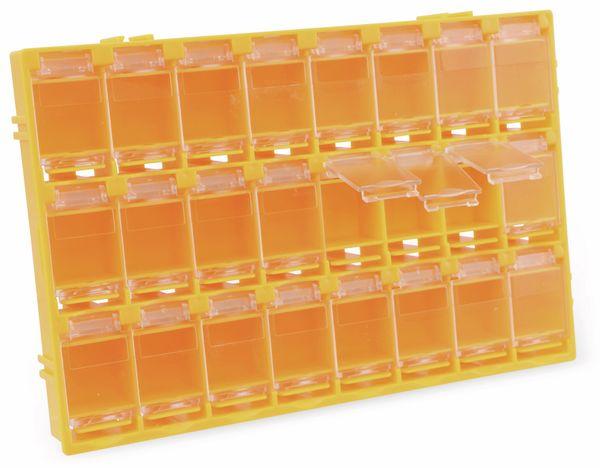 SMD-Systemcontainer T-156, 24-fach, orange - Produktbild 2