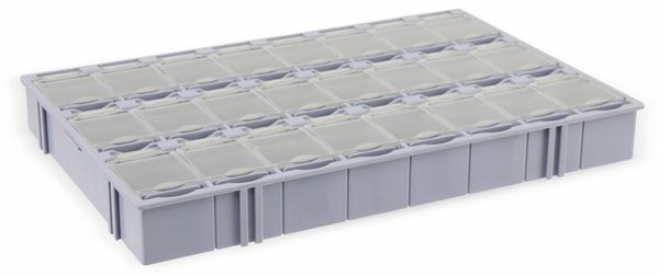 SMD-Systemcontainer T-156, 24-fach, grau - Produktbild 3