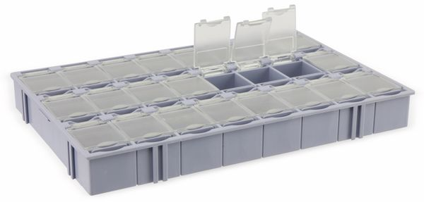SMD-Systemcontainer T-156, 24-fach, grau - Produktbild 4