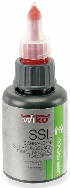Schraubensicherungslack SSL, 50 ml, rot, Ziehharmonika Flasche - Produktbild 1