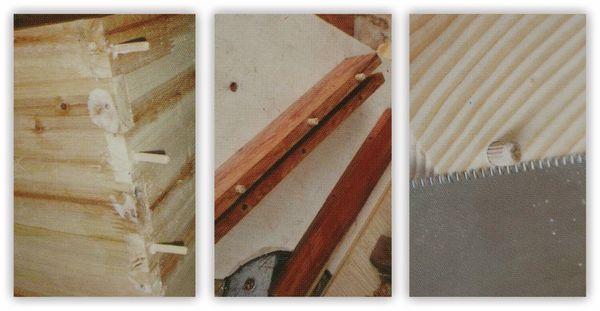 Holzdübel-Set, KINZO, 44-teilig - Produktbild 2