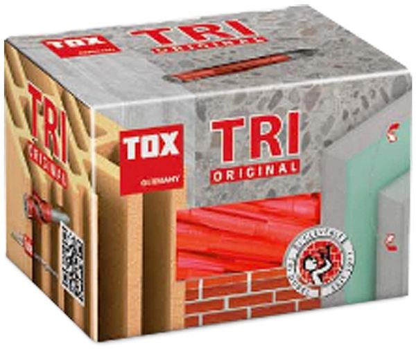 Allzweckdübel TOX Tri 010100181, 12/71, 25 Stück - Produktbild 2