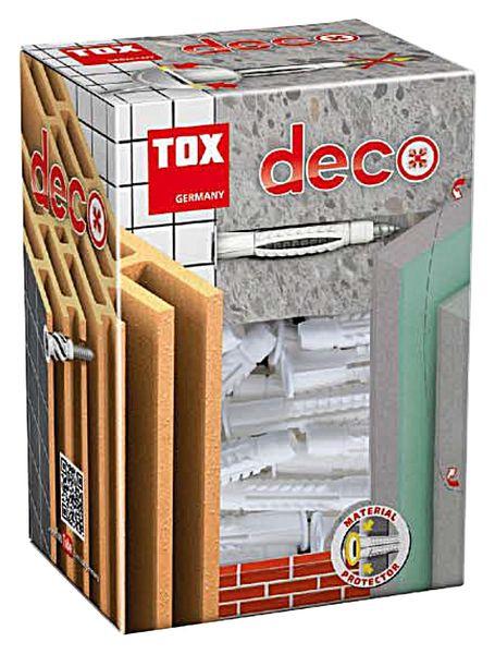 Allzweckdübel TOX Deco 010100081, 10/66, 50 Stück - Produktbild 2