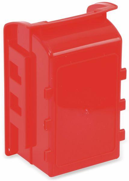 Stapelsichtbox KINZO, 120x100x70 mm, 8 Stück, rot - Produktbild 3