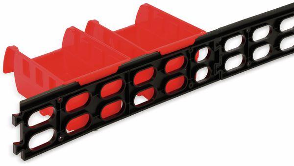 Stapelsichtbox KINZO, 120x100x70 mm, 8 Stück, rot - Produktbild 5