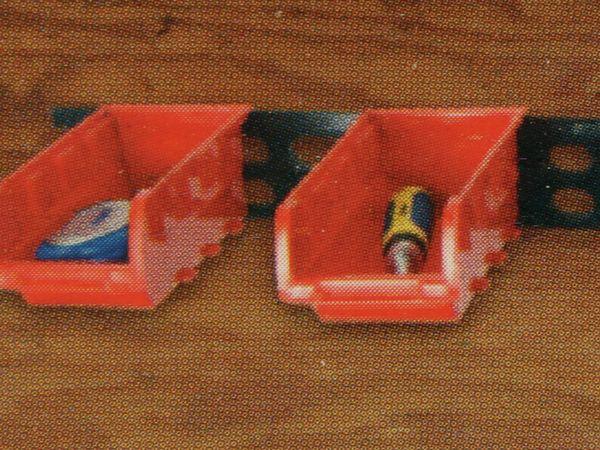 Stapelsichtbox KINZO, 120x100x70 mm, 8 Stück, rot - Produktbild 9