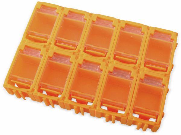 SMD-Container, 45x29,5x22 mm, 10 Stk., orange