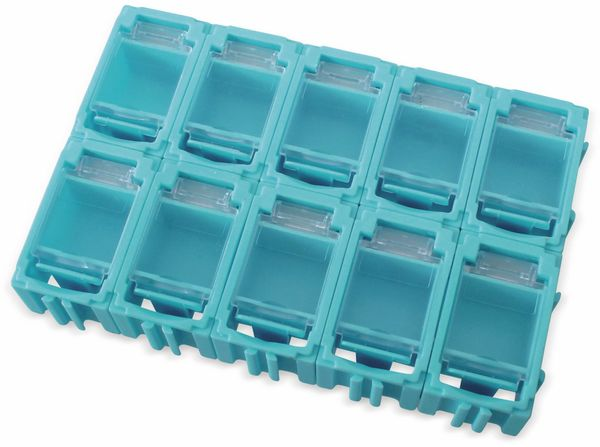 SMD-Container, 45x29,5x22 mm, 10 Stk., blau
