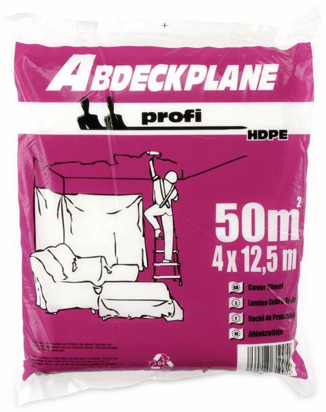 HDPE-Abdeckplane / Folie, 4x12,5 m