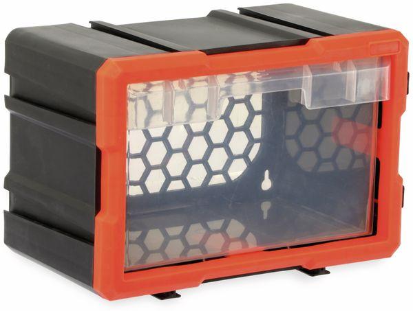 Werkzeugbox DAYTOOLS TW2019, Kunststoff,1-teilig, schwarz/orange