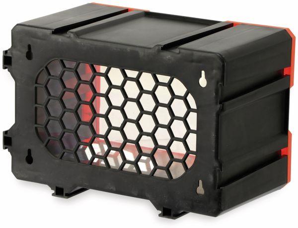 Werkzeugbox DAYTOOLS TW2019, Kunststoff,1-teilig, schwarz/orange - Produktbild 4