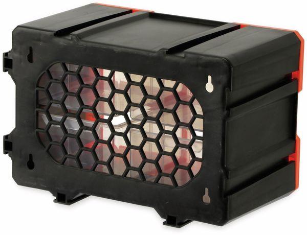 Werkzeugbox DAYTOOLS TW2021, Kunststoff,4-teilig, schwarz/orange - Produktbild 4