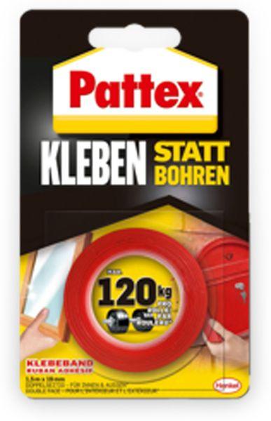 PATTEX Kleben statt Bohren, Klebeband, 19 mm x 1,5 m