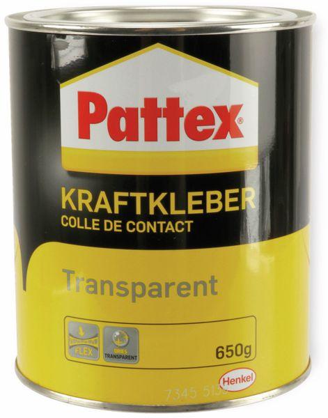 PATTEX, Kraftkleber transparent, PXT3C, Dose, 650g