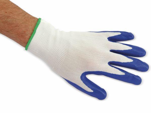 Nitril-Arbeitshandschuhe, EN420, Größe 8, blau - Produktbild 2